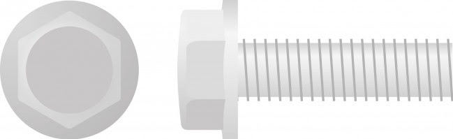 Parafuso Sextavado c /  Flange M6 (chave-10mm 10 / un)