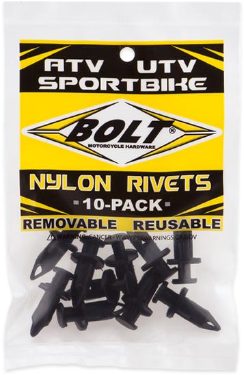 Rebites para Plásticos M8 PRY RIVET (10 / un)
