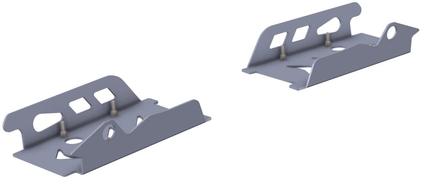 Protecção Triangulo Traseiro Polaris RZR 800 S