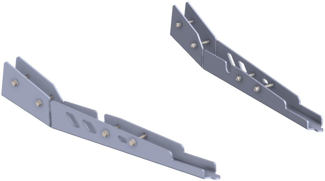 Protecção Triangulo Traseiro Polaris RZR XP 900 EFI- 2011 Ic CROSSPRO