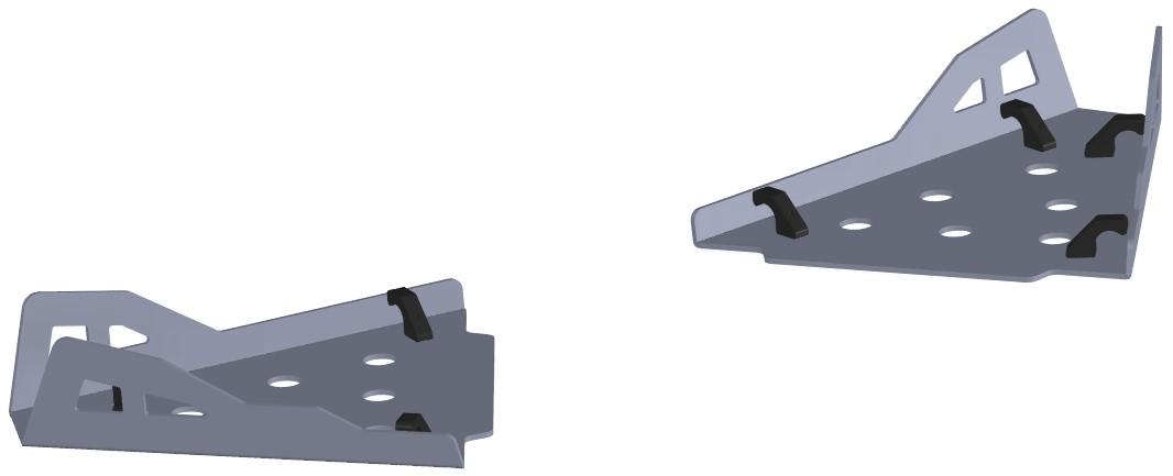 Protecção Triangulo Traseiro Can Am Maverick 1000 - 2013 Pre CROSSPRO