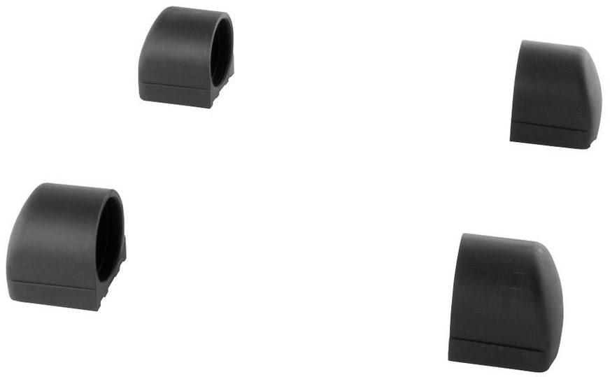 Borrachas das patas do Cavalete Xtreme 16 (4un Pretas)