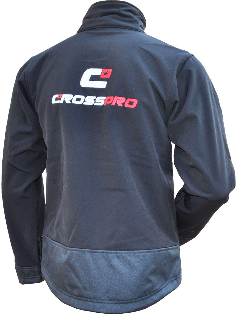 Casaco CrossPro Soft Shell Preto