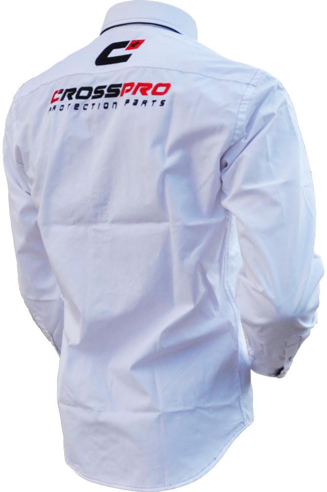 Camisa CrossPro Paddock Branca