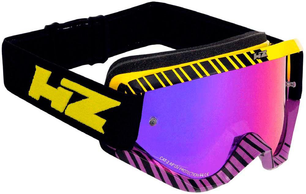 """Oculos HZ """"GRID"""" Roxo / Amarelo"""