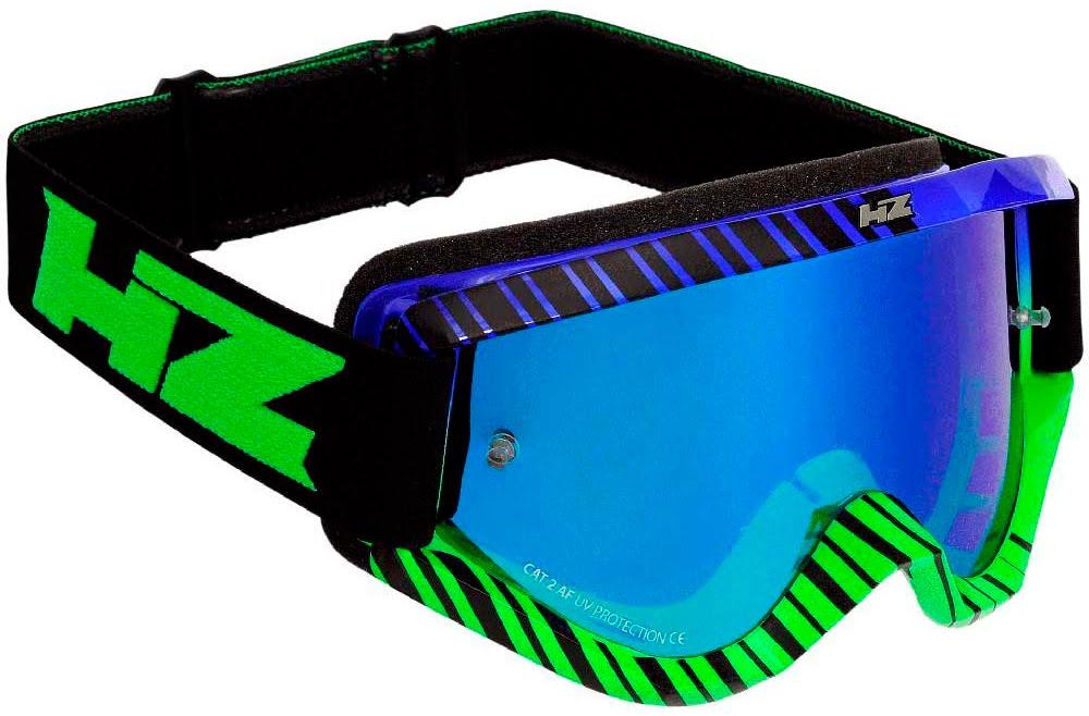 """Oculos HZ """"GRID"""" Azul / Verde"""