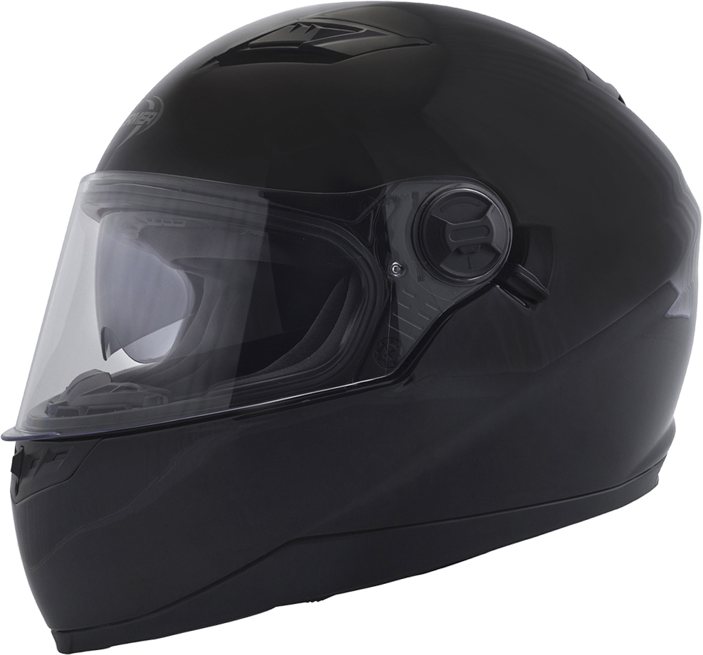 Capacete Integral PUSHER SOLID Preto STORMER