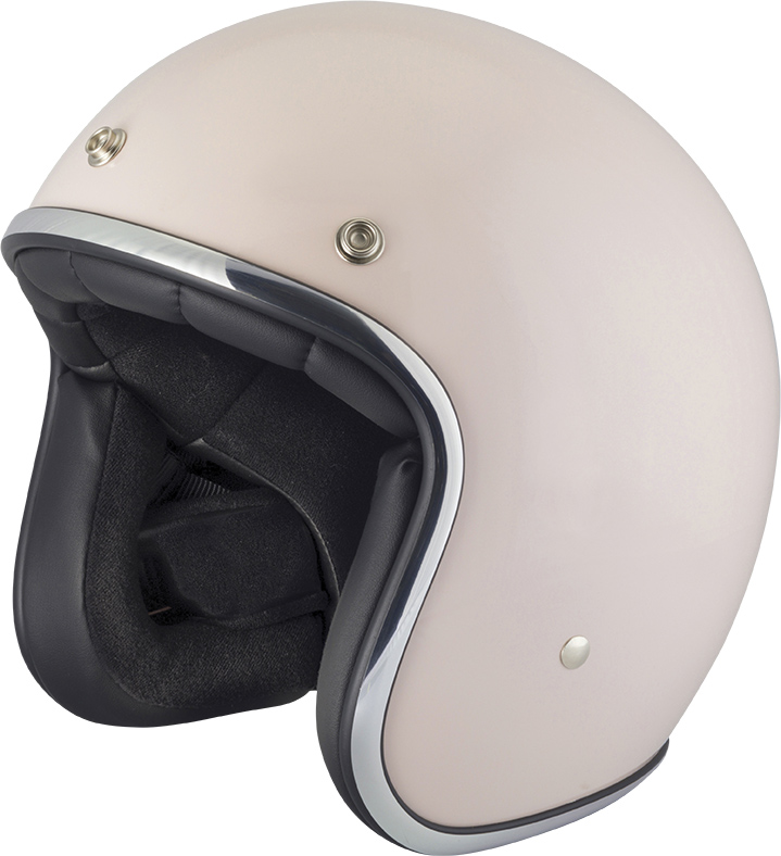 Capacete Vintage PEARL SOLID ROSE POUDRE STORMER