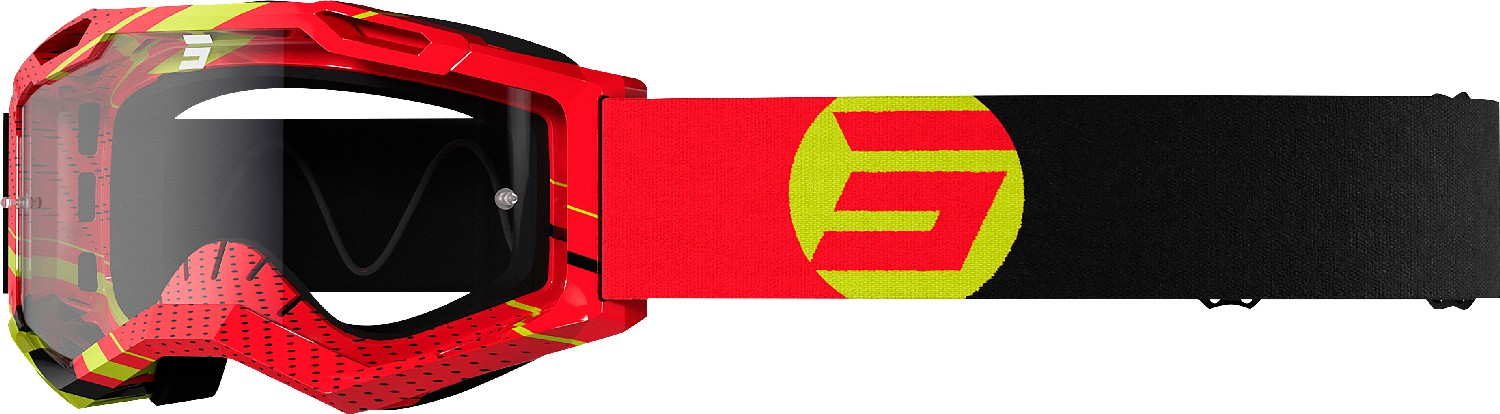 GOGGLES ASSAULT 2.0 FOCUS RED GLOSSY