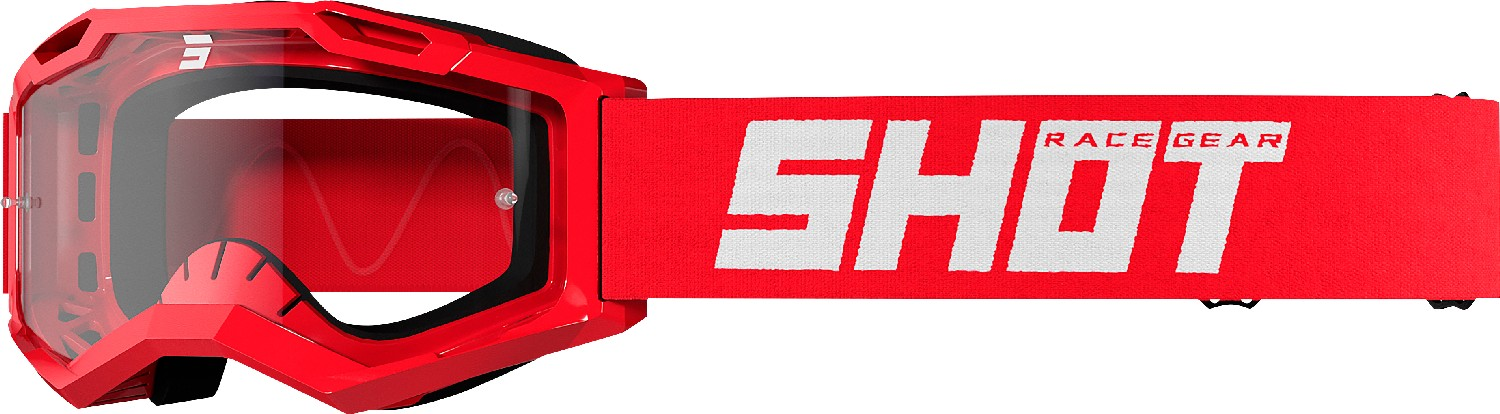 GOGGLES ASSAULT 2.0 SOLID RED GLOSSY