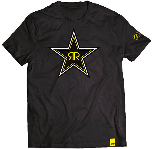 T-Shirt Homem ROCKSTAR BLACK STAR