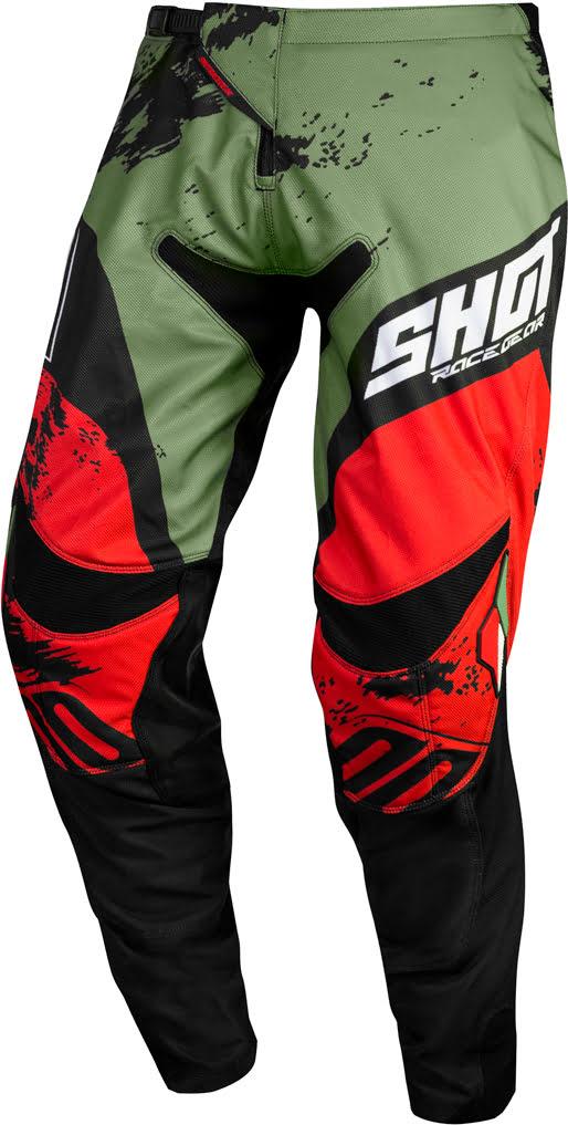 Equipamento CONTACT SHADOW Caqui / Vermelho