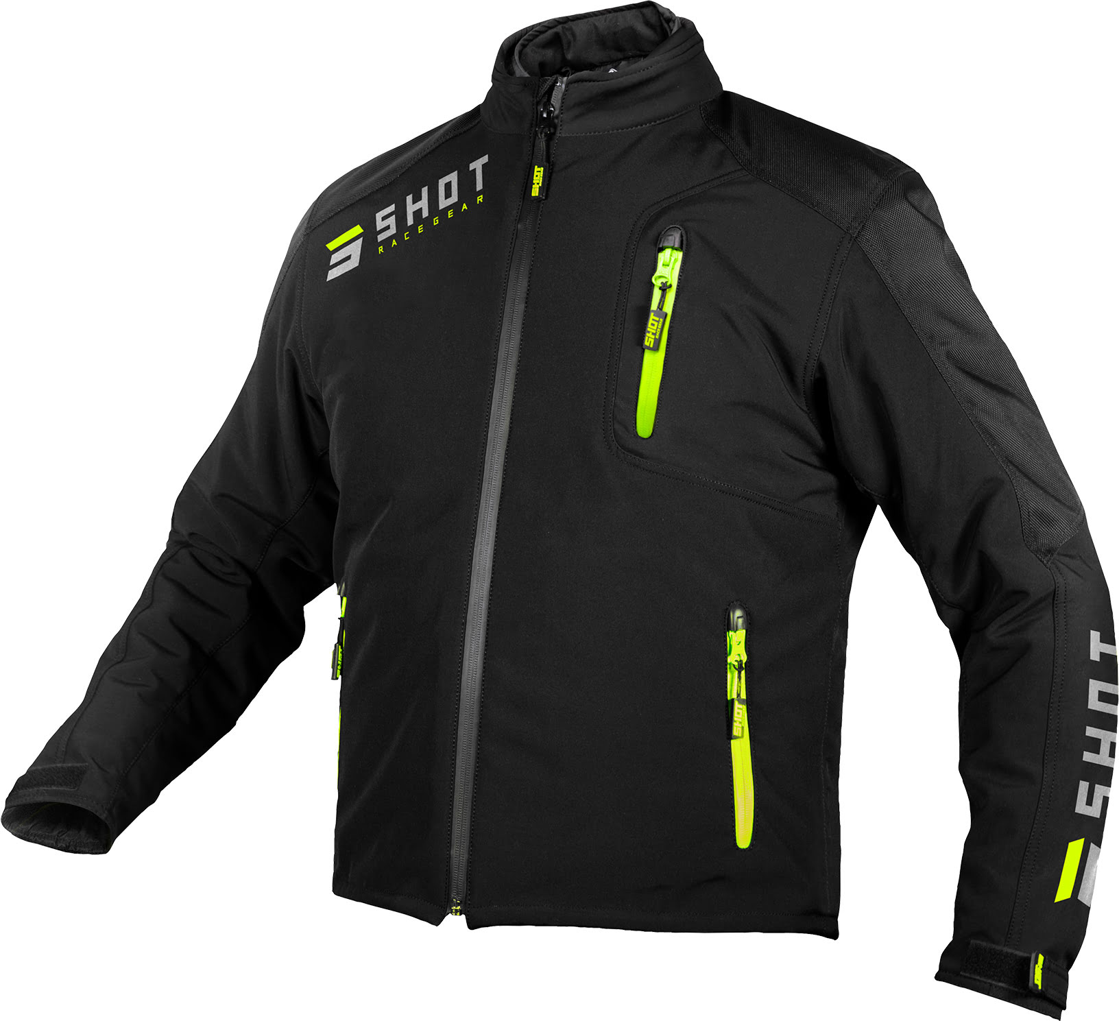 RIDING GEAR CLIMATIC BLACK NEON YELLOW
