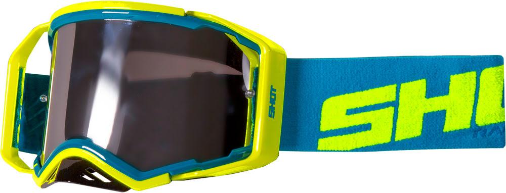 Oculos LITE Azul / Amarelo neon brilho