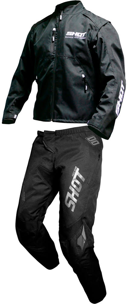 Riding Gear CONTACT BLACK WHITE