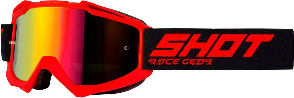 Oculos IRIS Vermelho Mate