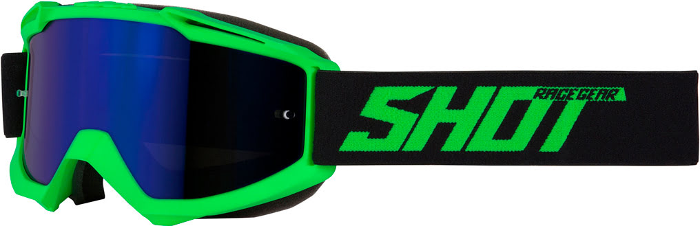Oculos IRIS Verde neon Mate