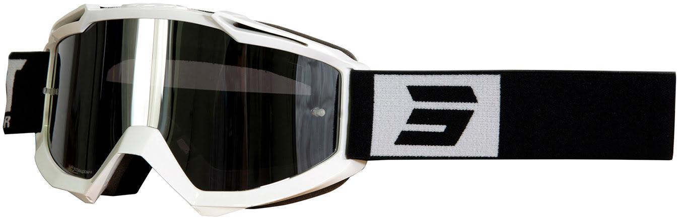 Oculos IRIS FASHION Brancos / Pretos brilho
