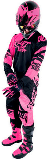 Luva CONTACT CLAW Rosa neon XL SHOT