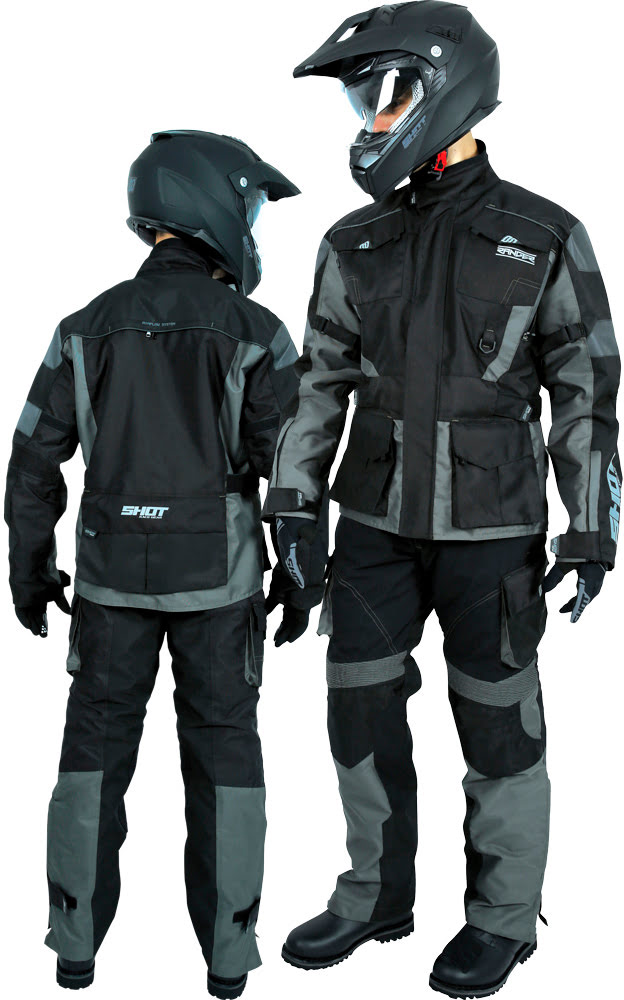 Riding Gear Shot RANGER Kaki / Black