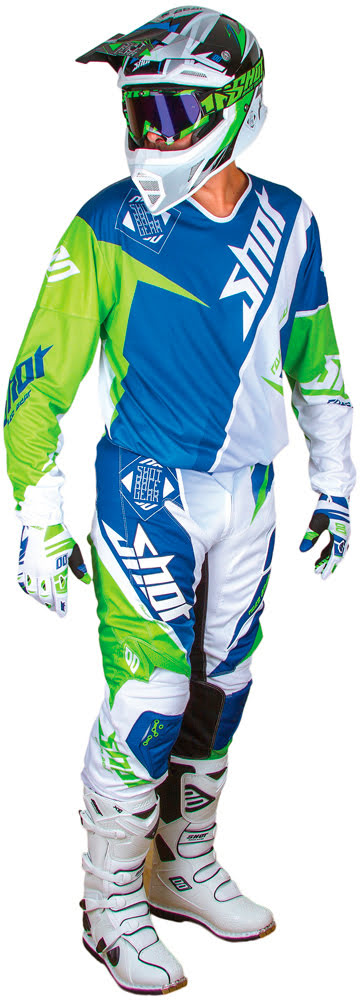 Luva FLEXOR MAROON Azul / Verde 08