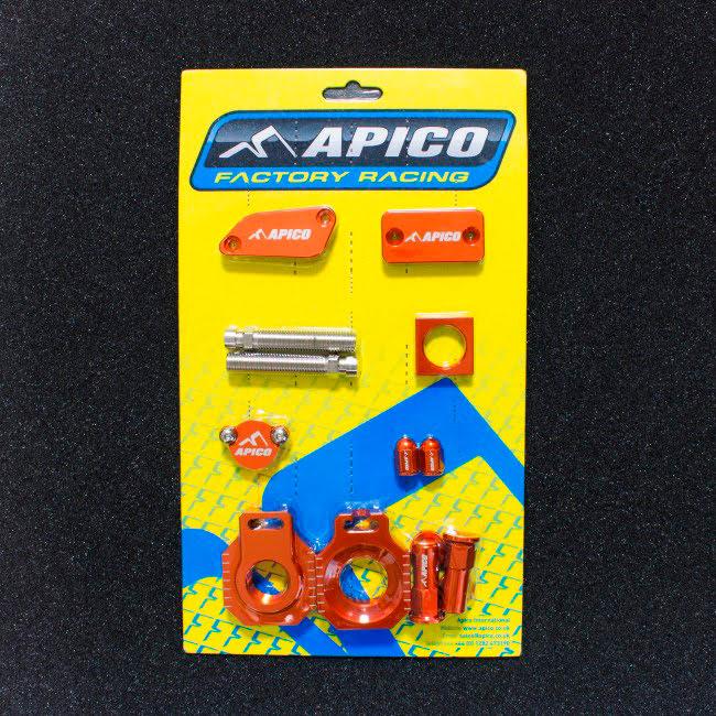 Kit peças anodizadas Laranja APICO