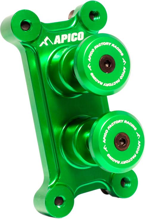 Holeshot (Apenas Botões) APICO Dual STD Verde
