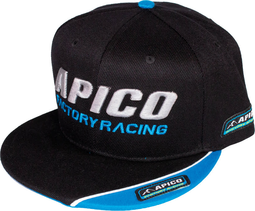 Boné Apico FACTORY RACING SNAPBACK Preto