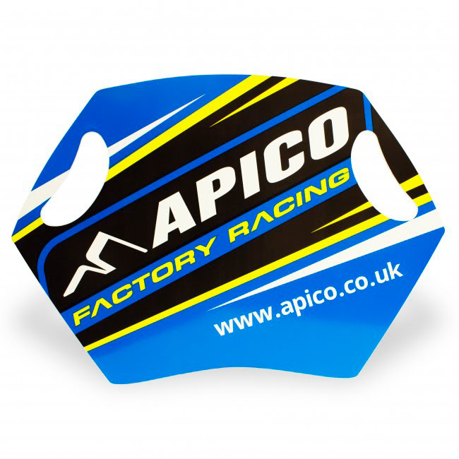 APICO FACTORY RACING PIT BOARD
