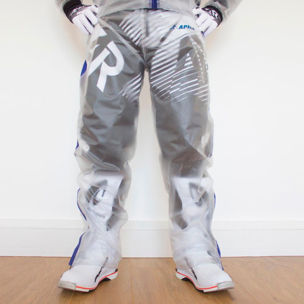 Calça Impermeavel Apico Transparente / Azul APICO