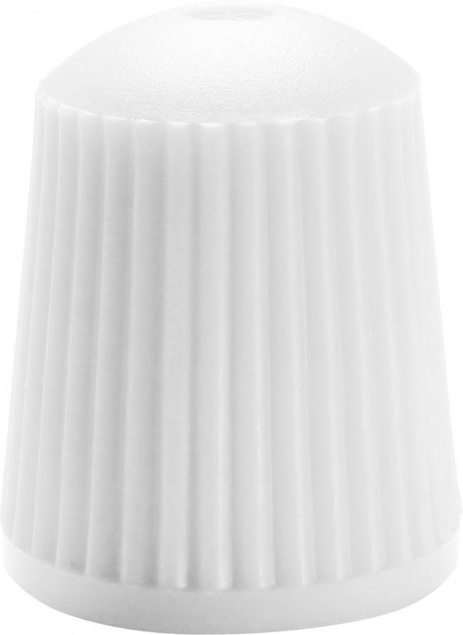 VALVE CAPS SILICONE WHITE 10-PACK