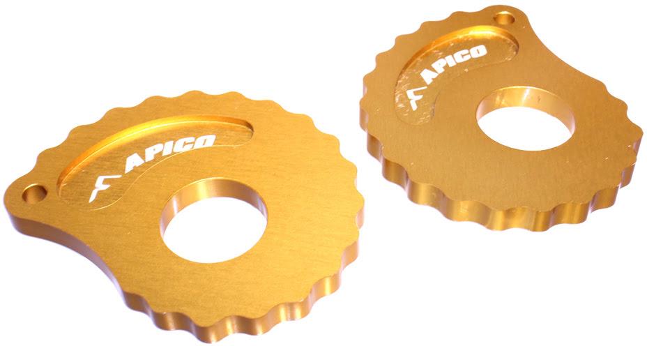 SNAIL CAM 17MM GOLD