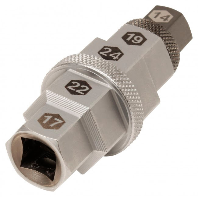 Chave do eixo interior 14,17,19,22,24mm APICO