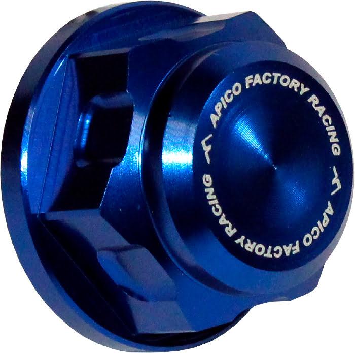 Porca do Eixo da Roda de Trás M20 X 1.5 Azul