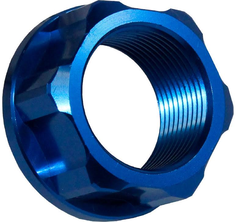 Porca do Eixo da Roda de Trás M25 X 1.5 Azul