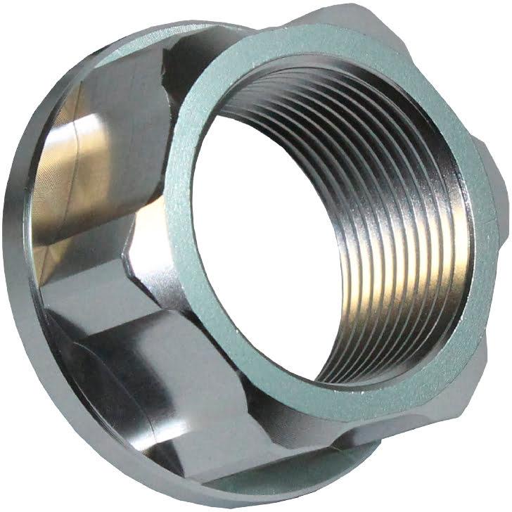 Porca do Eixo da Roda de Trás M25 X 1.5 Cinza