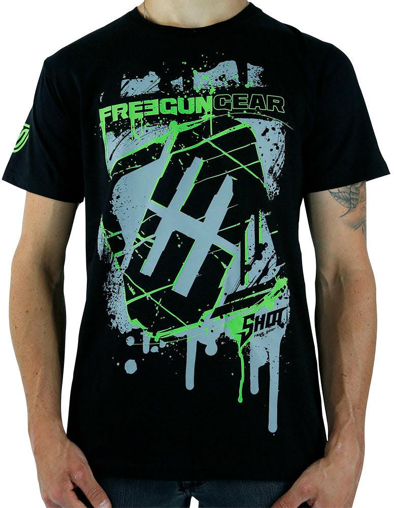 T-shirt Homem SQUARE Preta
