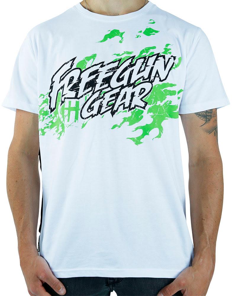 T-shirt Homem GRUNGE Branca