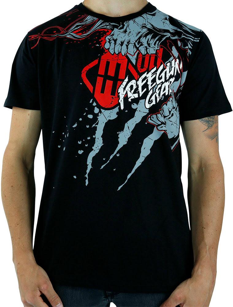 T-shirt Homem SCREAM Preta
