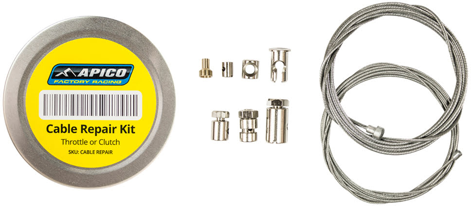 CABLE REPAIR KIT FOR THROTTLE / CLUTCH APICO