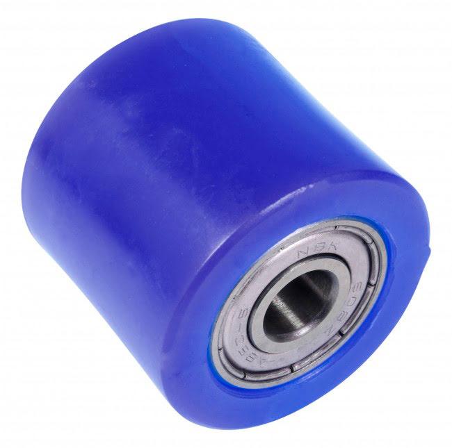 Roleto de corrente 32mm azul