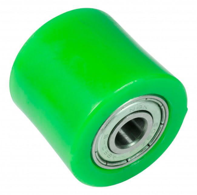 Roleto de corrente 32mm verde