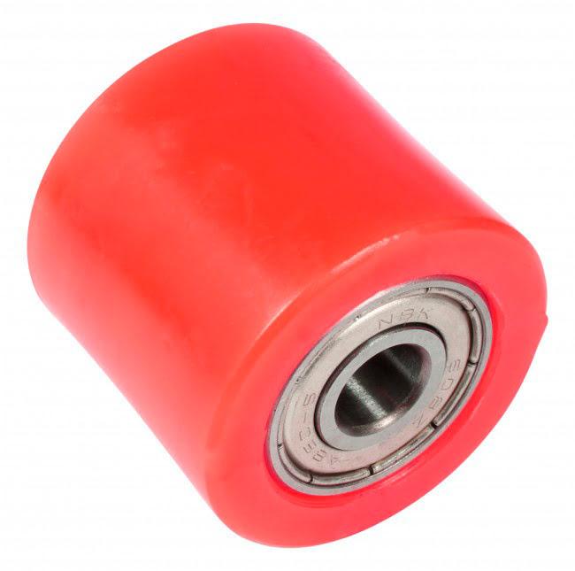 Roleto de corrente 32mm vermelho