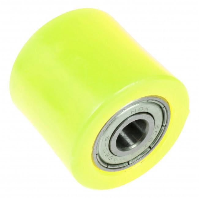 Roleto de corrente 32mm amarelo
