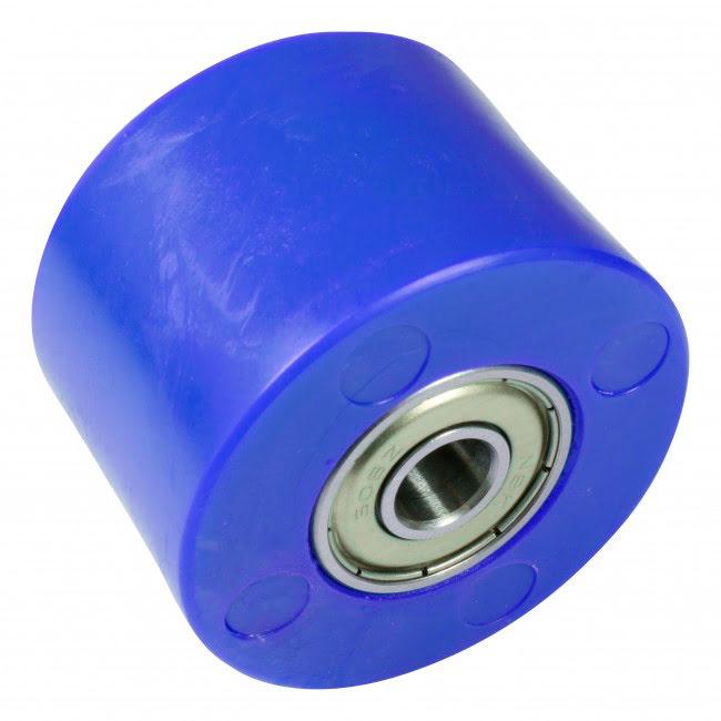 Roleto de corrente 42mm azul