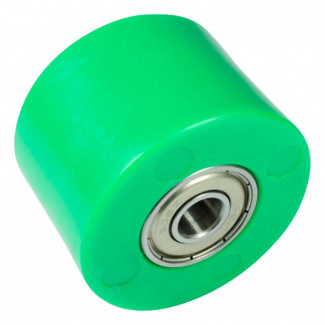 Roleto de corrente 42mm verde