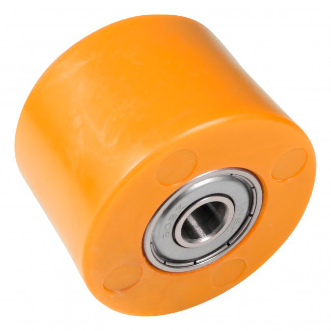 Roleto de corrente 42mm laranja