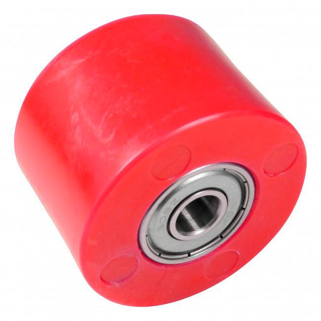 Roleto de corrente 42mm vermelho