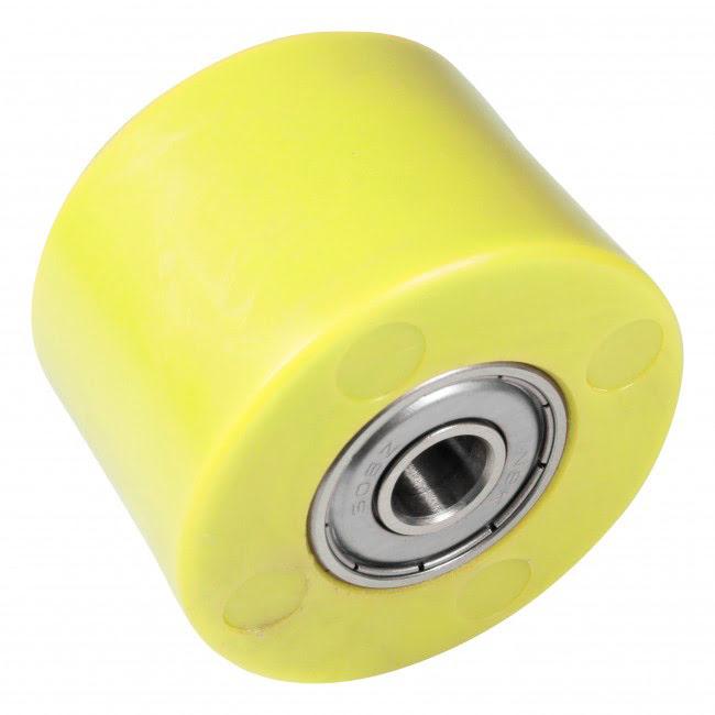 Roleto de corrente 42mm amarelo