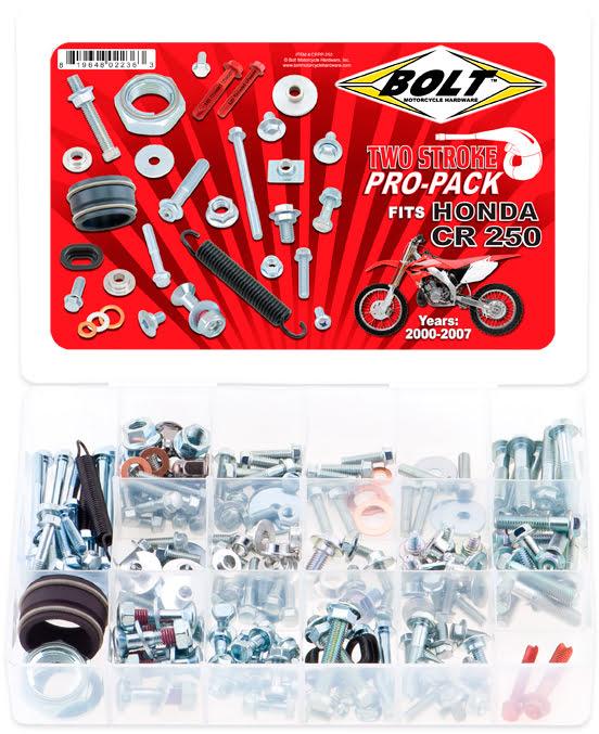 Kit de Parafusos PROPACK | HONDA CR250 2-STK BOLT MOTORCYCLE HARDWARE